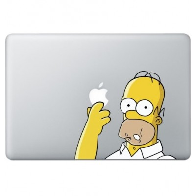 Homer Simpsons (2) Macbook Sticker