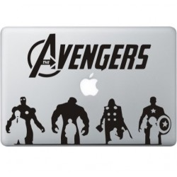 The Avengers (2) MacBook Sticker