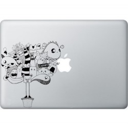 Carrot Macbook Sticker