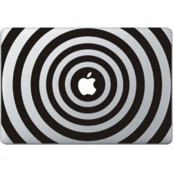 Cirkel Print Macbook Sticker