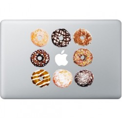 Donuts Macbook Sticker