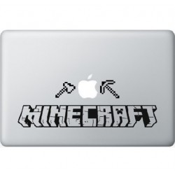 Minecraft Macbbok Sticker