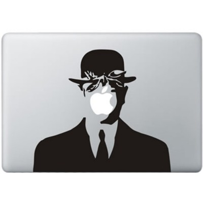 Magritte MacBook Sticker