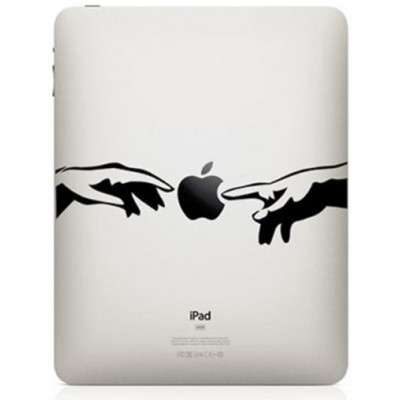 Creation of Adam iPad Sticker iPad Stickers