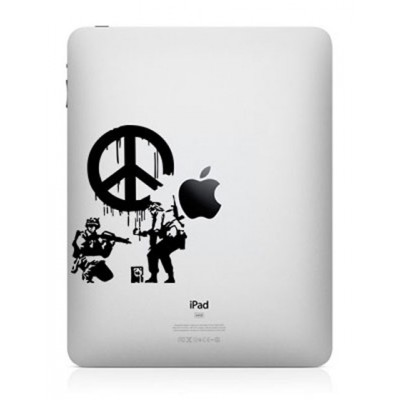 Banksy Peace iPad Sticker iPad Stickers