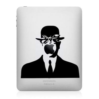 Magritte iPad Sticker iPad Stickers