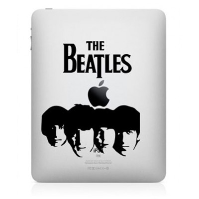 The Beatles iPad Sticker