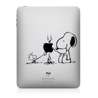 Snoopy (2) iPad Sticker