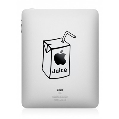 Apple Juice (2) iPad Sticker