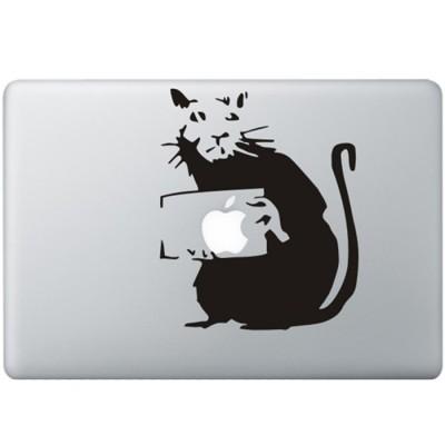 Banksy Rat MacBook Sticker