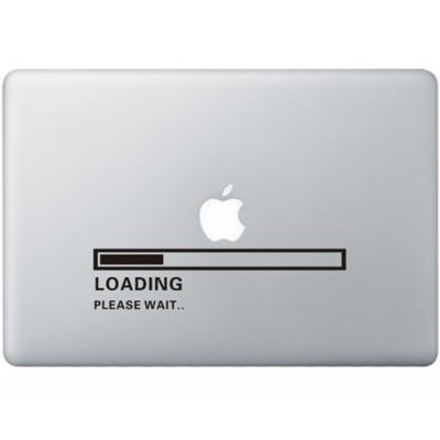 Apple Loading MacBook Sticker