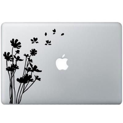 Bloemen MacBook Sticker