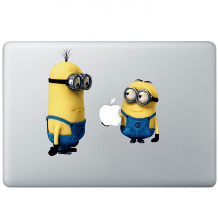 Despicable Me: Minions MacBook Sticker Gekleurde Stickers