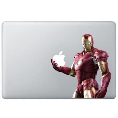 Iron Man (3) Kleur MacBook Sticker