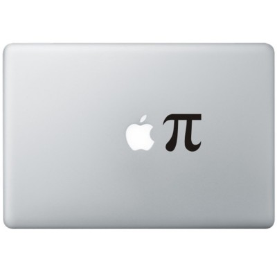 Apple Pie MacBook Sticker Zwarte Stickers