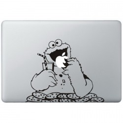 Cookie Monster (2) MacBook Sticker