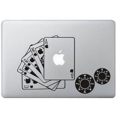 Poker MacBook Sticker