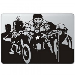 The Avengers MacBook Decal