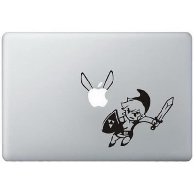 Link The Legend Of Zelda MacBook Sticker
