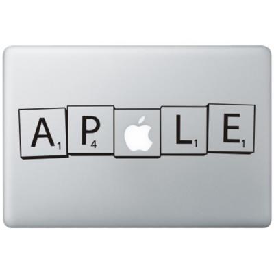Scrabble MacBook Sticker