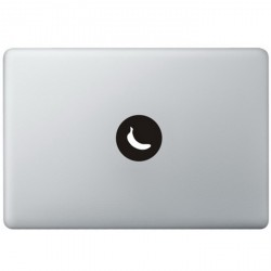 Banaan Logo MacBook Sticker