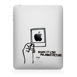Shake It Like A Polaroid iPad Sticker