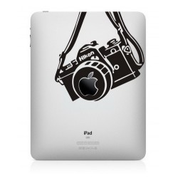 Nikon Vintage Camera iPad Sticker