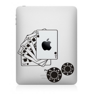 Poker iPad Sticker