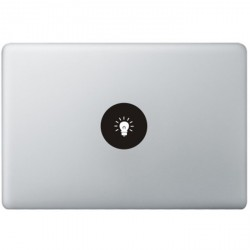 Lamp Logo MacBook Sticker