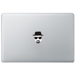 Breaking Bad Heisenberg MacBook Sticker