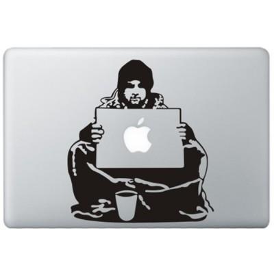 Banksy Bum MacBook Sticker