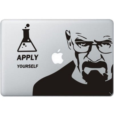 Breaking Bad MacBook Sticker Zwarte Stickers