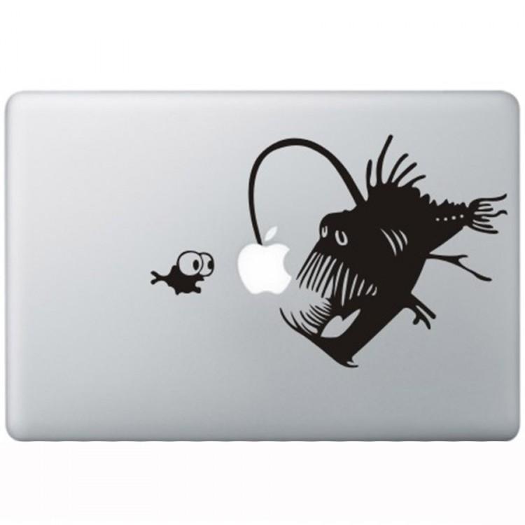 Koraal Duivel MacBook Sticker Zwarte Stickers