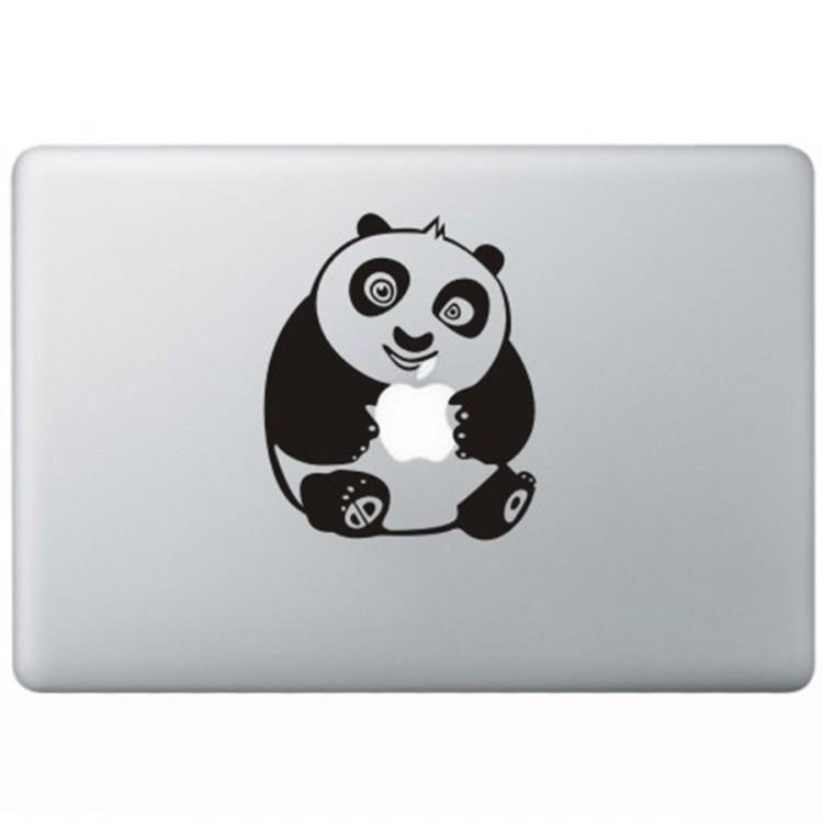 Kung Fu Panda MacBook Sticker Zwarte Stickers
