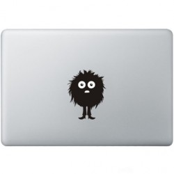 Fuzzy Guy Macbook Sticker