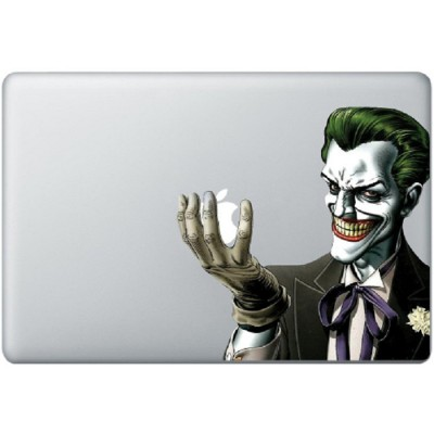 Batman Joker Kleur MacBook Sticker